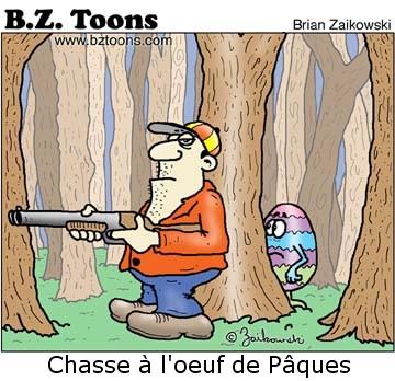 dessin humoristique pâques