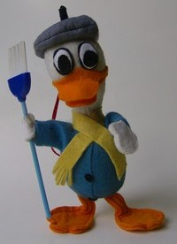 donald duck feurtine